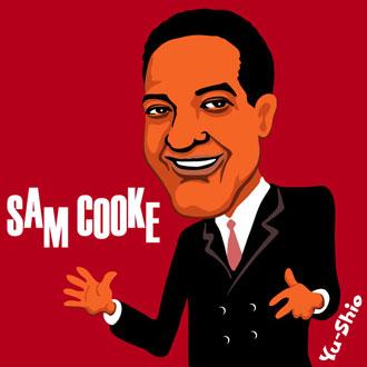 Sam Cooke caricature