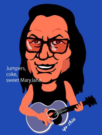 Sixto Rodriguez Sugarman caricature