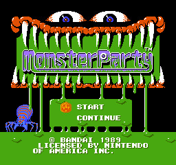Monster Party (U) [!] 201009132005160