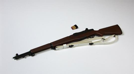 ライフルと薬莢