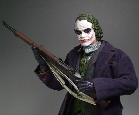 ジョーカーDX銃構え1