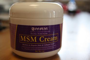 MRM, MSM Cream, Extra Strength, 4 oz