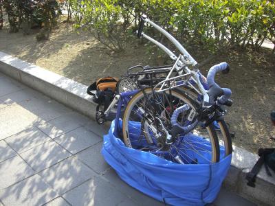 自転車組立(福山城)