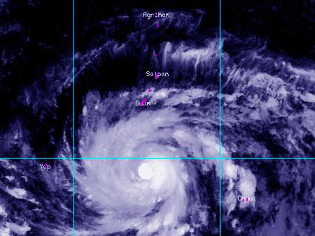 サイパン天気図