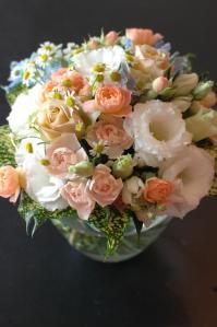 明子さん丸い花束