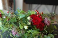 枠組みの花束