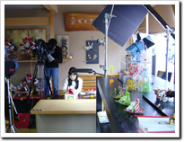 石川の伝統産業 DVD撮影1
