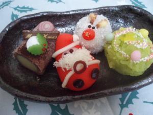 クリスマス和菓子