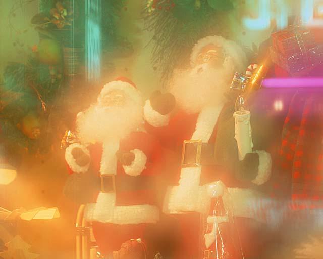 サンタクロース写真