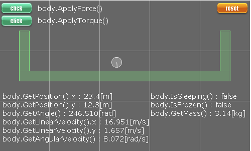 b2Bodyクラスサンプルswfイメージ図