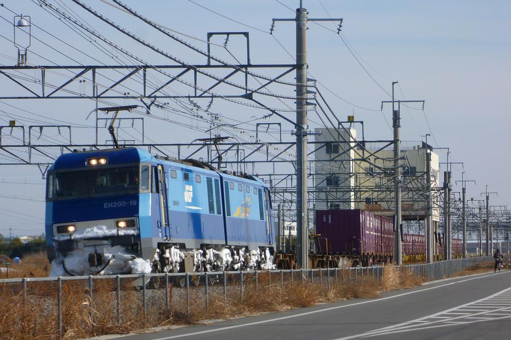 1/5 撮影記 高崎線貨物列車 4073レ、2082レ(代走)を撮影
