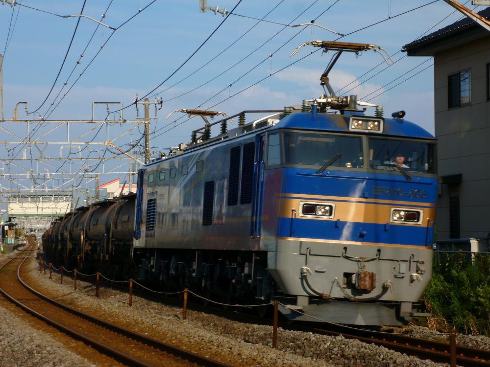 7/5 鉄道mini撮影記 今日の安中貨物(5781レ) EF510-505でギラリ☆