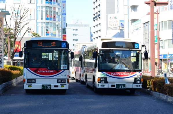 国際十王交通 2116(熊谷200か195)・2162(熊谷200か816)
