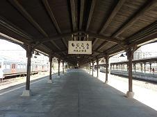 2010年9月25日 門司港駅にて ・・・客車のこと
