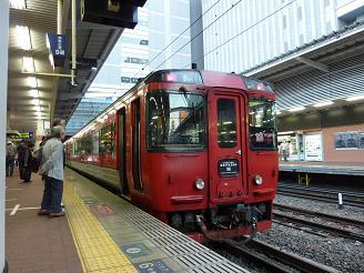 キハ185系 博多駅にて