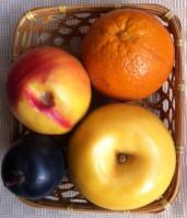 果物かご俯瞰
