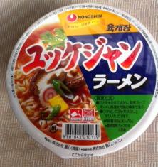 ユッケジャン麺 日本