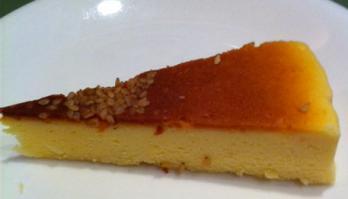 西京味噌のチーズケーキ