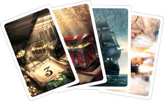 海賊免許:カード