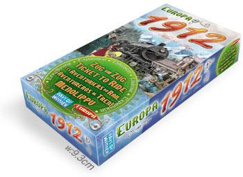 チケット トゥ ライド拡張セット:ヨーロッパ1912:箱