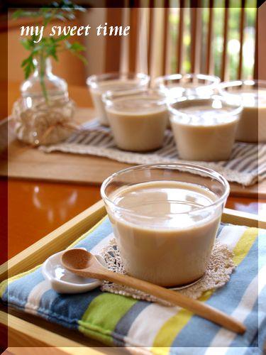 アールグレーのミルクティプリン