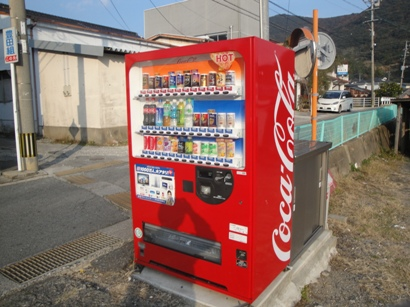近所の自販機