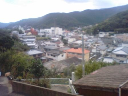 小学校からの景色