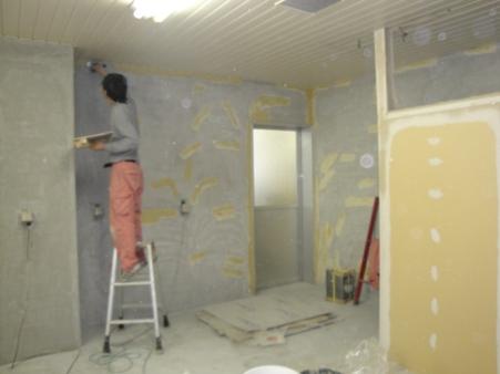 某施設改修~壁・床 仕上げ工事