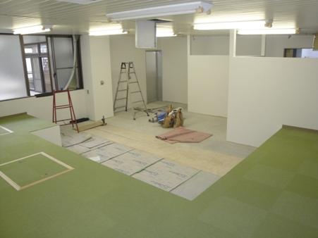 某施設改修~壁・床 仕上