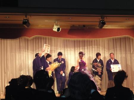 Y松さんとこの結婚式でした