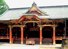 根津神社社殿