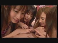 小悪魔痴女4人:大沢美加 つぼみ 彩音さくら 桃依さら